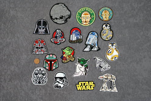 SWars Iron On Patches