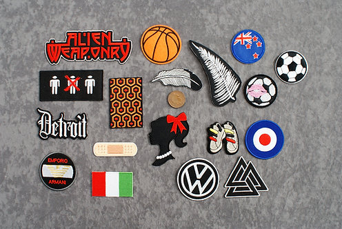 Awesome 1 Iron On Patches
