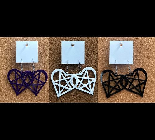 Pentagram Hearts