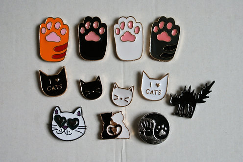 Cat Pins 2