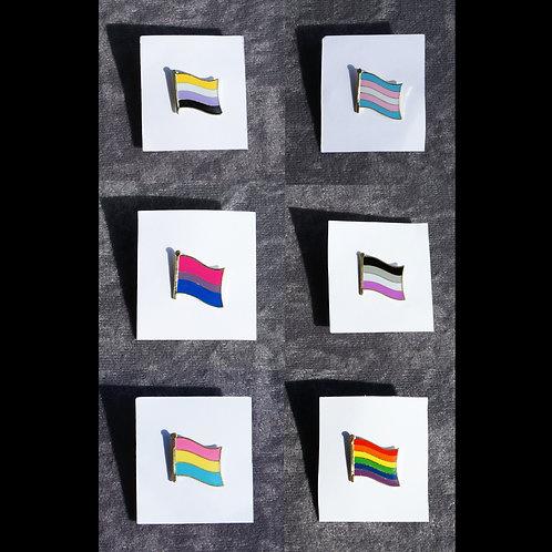 Pride Flag Pins