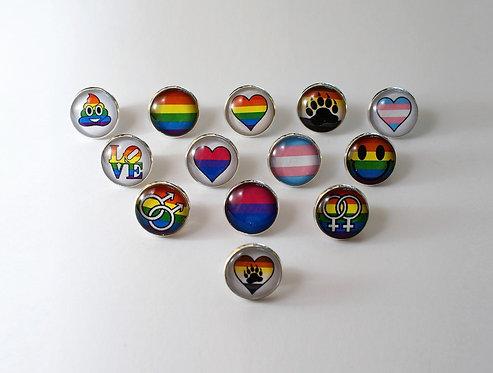Pride Pin Badges 1