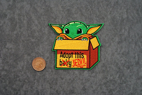 Adopt a Greeny Iron on Patch