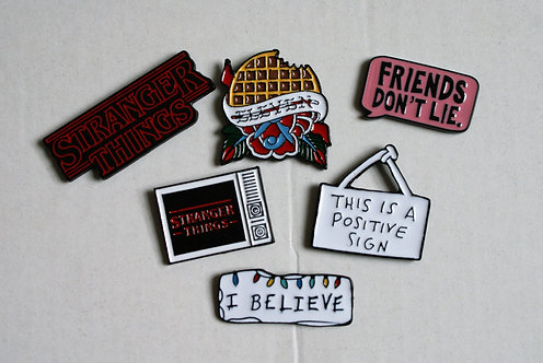 Stranger Things Pins