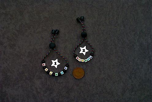 Adjustable Rainbow/Hearts Bracelet