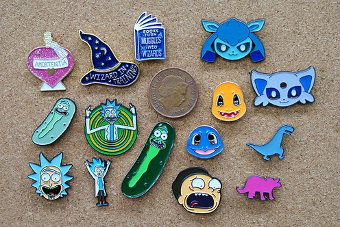 Cartoon Pins
