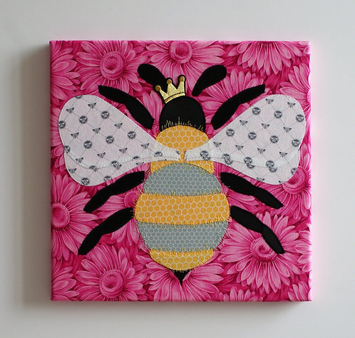 Miss Bumble Queen Pinkie Flower