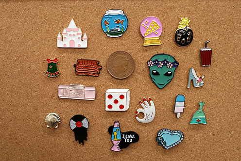 Retro Pins 2