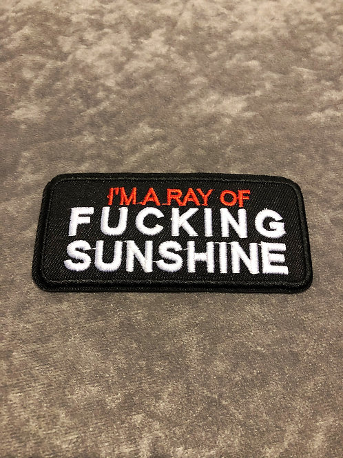 I'm a Ray Patch