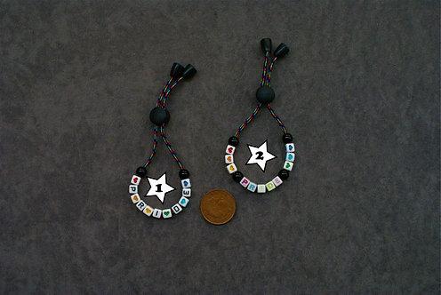 Adjustable Pride/Heart Bracelet