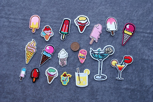 Lollies Iron On Patches