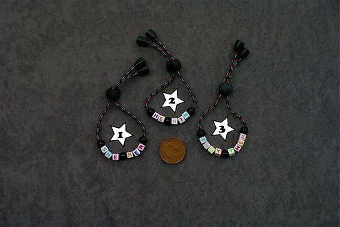 Adjustable Pronoun Bracelet