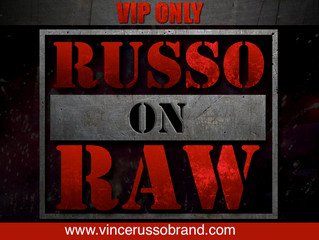 RUSSO ON RAW