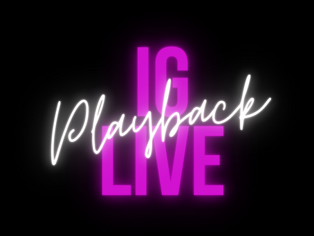 IG Live Playback: The importance of leaving toxic &/or abusive relationships.