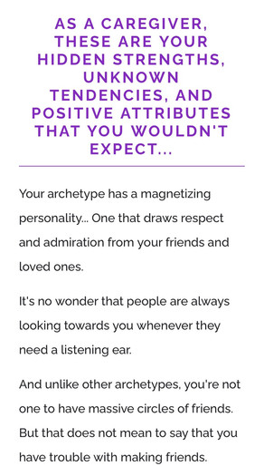 What's your Archetype?