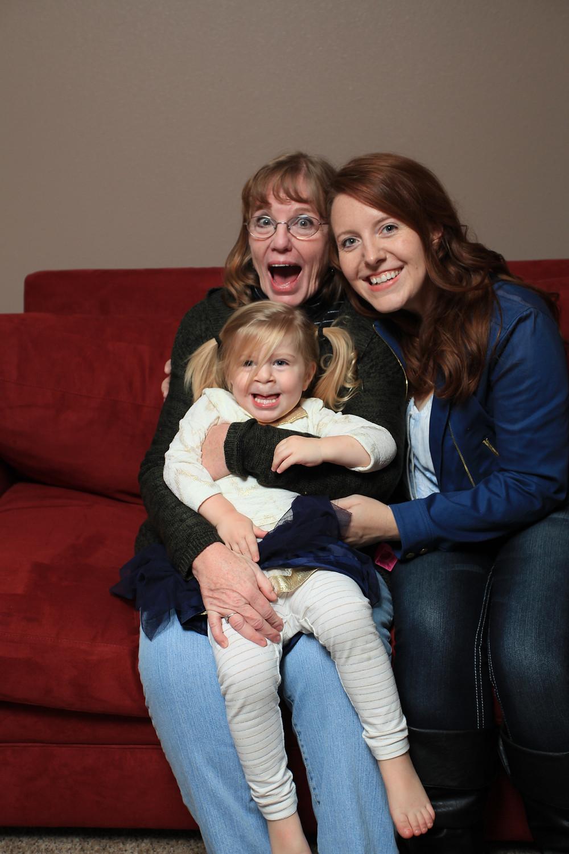 My Mom, me, and Tiny Human
