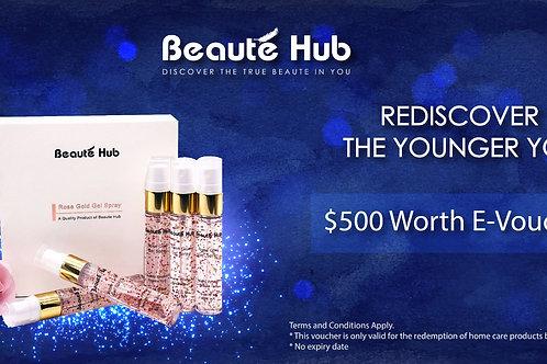 Beautehub Voucher - $500
