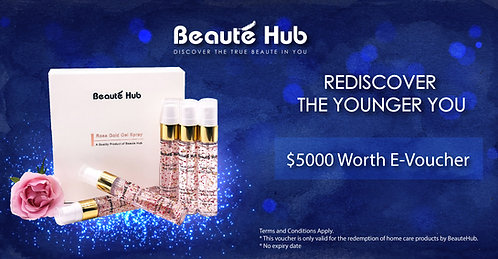 Beautehub E-Voucher $5000
