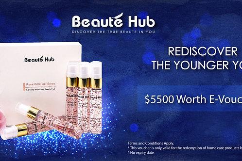 Beautehub Voucher - $5500