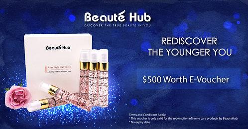 Beautehub E-Voucher $500