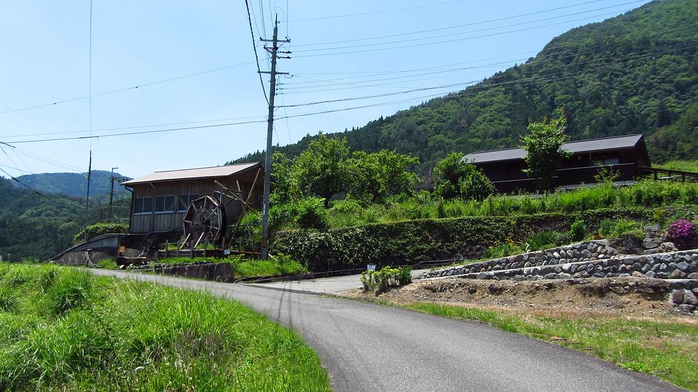 十津川村 水車のある小屋