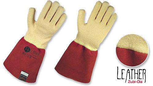 """Guantes en Fibra Taeki5® y Cuero • Protección Anticorte Nivel 5 • """"Leather"""""""