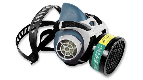 Respirador Media Máscara • Un cartucho • Dos válvulas• INCLUYE 1 CARTUCHO