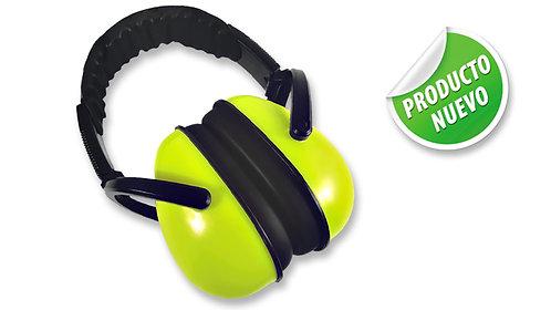 Protector Auditivo Tipo Copa, Amarillo Neón • NRR 26 dB