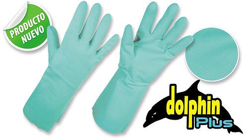 "Guantes Nitrilo con Flock • Espesor: 15 mils • ""Dolphin Plus"""
