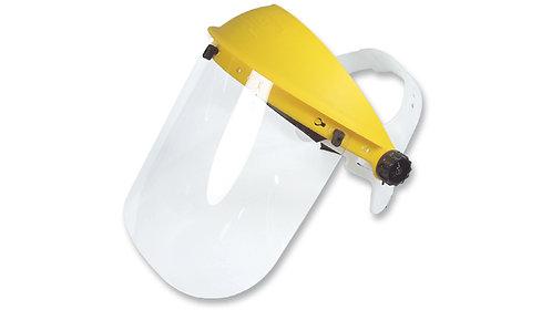Careta de Protección Facial con Soporte Ajustable y Visor Claro