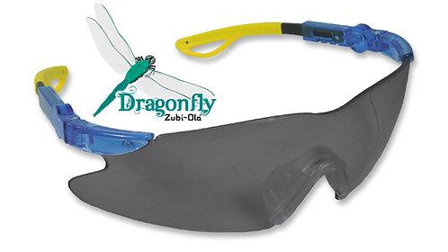 "Gafas Unilente, ratchet, brazos extensibles • Lente Oscuro Antifog • ""DragonFly"""