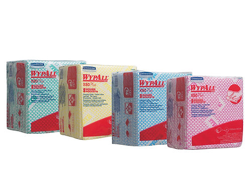 WypAll* X80 Plus Colores