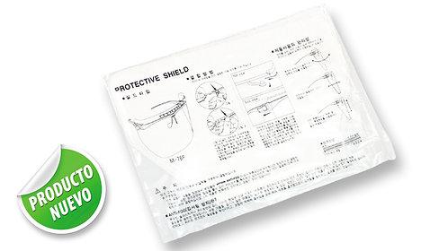 Bolsa de 3 repuestos en acetato, para Kit de Protección Médicos u Odontólogos