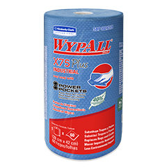 WypAll* X75 Plus Industrial Roll Power Pockets