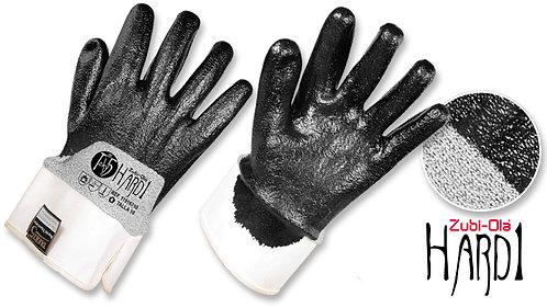 "Guantes en Fibra Taeki5®, recubiertos con Nitrilo HCT • 3/4 DIP •""Hard1"""