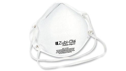 Mascarilla para polvo, termoformada, desechable • Caja dispensadora x 20 uni.