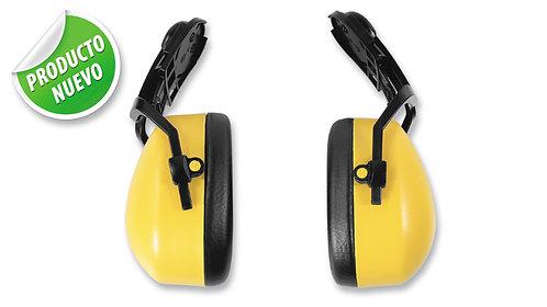 Protector Auditivo Tipo Copa, para insertar en casco • NRR 30 dB