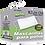 Thumbnail: Mascarilla para polvo Rectangular • Desechable x100 Unidades