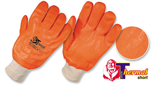 """Guantes PVC Utilflex Neón Semicorrugados •Para ambientes fríos• """"Thermal Short"""""""