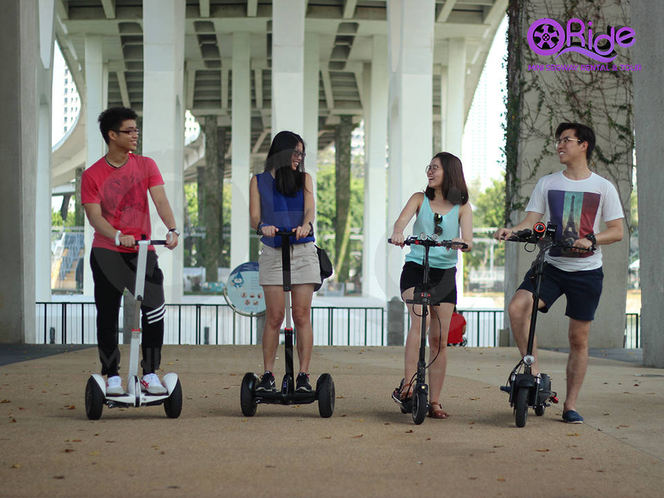 Mini Segway and Scooters Guided Tour