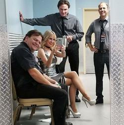 Hollywood Blonde Backstage
