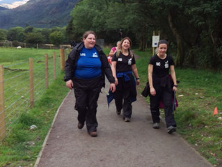The 2nd Officer completes her 'Road to Ben Nevis' challenge....