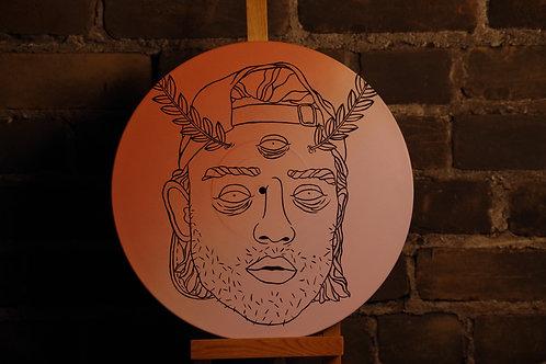 Peinture sur Vinyle ''LOUD''