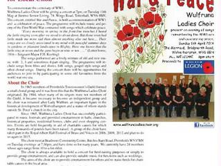 WLC article in Villager magazine