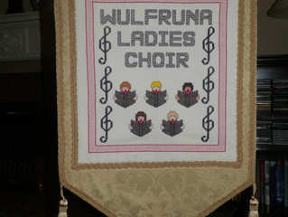 New choir banner