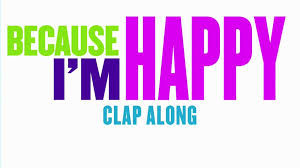 Clap along if you feel happy