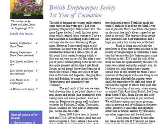 BSS Newsletters on website