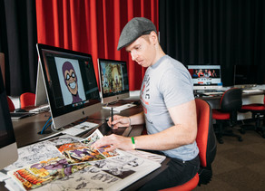 Griffith Film School's 'Comics & Sequential Storytelling' adds a 2nd tutorial time