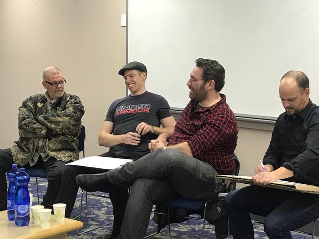 Phantom Panel at Comic Con-Versation