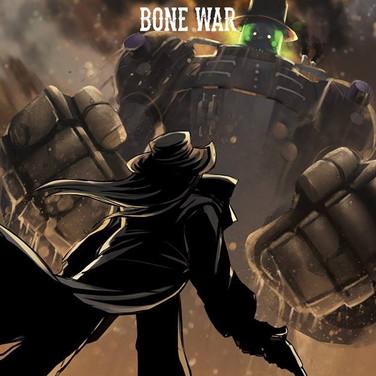 Bone War #4 Cover